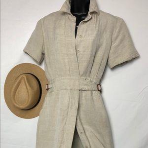 Linen Harve Bernard dress